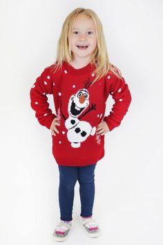 Need That Look - Kids Snowman Christmas Jumper in red (http://www.needthatlook.com/kids-snowman-christmas-jumper/)