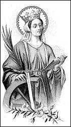 ST. CATHERINE OF ALEXANDRIA :: Catholic News Agency (CNA)