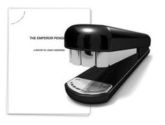 Teeth-shaped stapler design