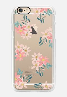 Casetify iPhone 7 Case and Other iPhone Covers - Pink Daisies by Chloe Hall   #Casetify