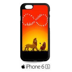 Disney, the lion king hakuna matata iPhone 6S  Case