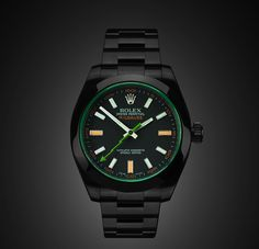 Black Rolex Milgauss special edition - only 30 made