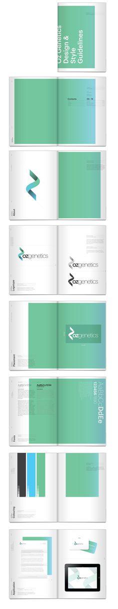 Oz Genetics Identity by Ryan De Remer, via Behance