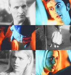 10th, 9th, billie piper, christopher eccleston, david tennant, doctor who, rose tyler, eccly