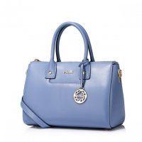 Luksusowa damska torebka z kolekcji jesiennej Niebieska