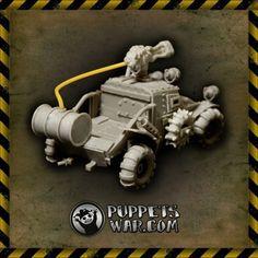puppetswar.eu - Orc Buggi