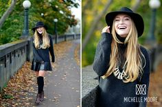 Michelle Moore photo shoot. I am in LOVE with the model's outfit!