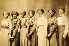 African American women c.1900
