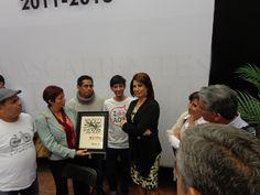 Alcaldesa recibe reconocimiento de Ciclociudades por parte del movimiento