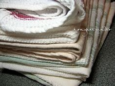 A friss konyharuha titka Tea Towels, Cleaning, Dish Towels, Home Cleaning, Flour Sack Towels