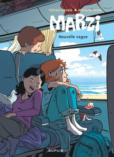 Marzi tome Marzena Sowa jeune et attachante adolescente Book Cover Design, Book Design, Coraline Art, Train Illustration, Bd Art, Art Zine, Diary Covers, Drawn Art, Ligne Claire