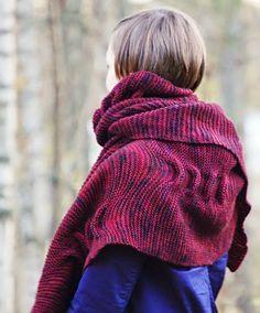MES FAVORIS TRICOT-CROCHET: Modèle tricot gratuit : L'étole Pop Block