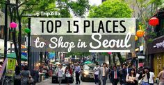 Check out the best places to shop for clothes, skincare, snack and more in Seoul. This guide covers shopping streets, malls and markets and even supermarkets!