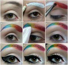 really cool for costume make up or fashion show  This makes me sing...... ohhh it makes me smiiiiillllleeee