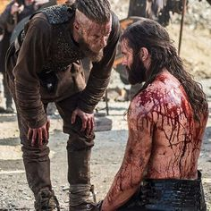 """""""We are brothers. You and I will always be equal."""" -Ragnar #Vikings"""