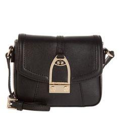 La Martina Tasche – La Portena Small Crossbody Bag Black – in schwarz – Umhängetasche für Damen