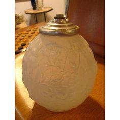 Verlys Pied De Lampe verre opalescent