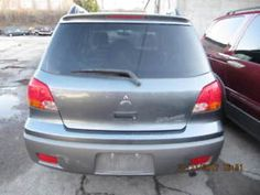 Classic 2005 Mitsubishi Outlander AWD 4door Vehicle Ex Condition