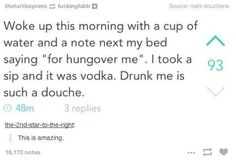 26 decisions you only make when you're drunk | Trolling your sober self.