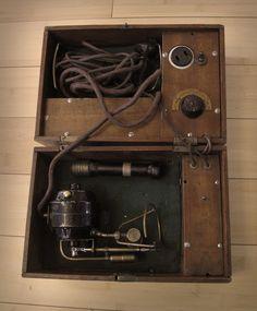 Vintage rotary tattoo machine