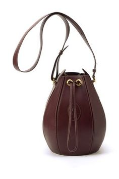 Vintage Must de Cartier Leather Shoulder Bag