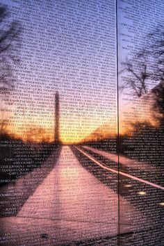 'Always Remembered' - The Vietnam Wall in Washington DC.  I've seen this wall in person, but I have to say even in print, it still brings me to tears.  There's a person behind every name..........  RIP and THANK YOU FOR YOUR BRAVERY!