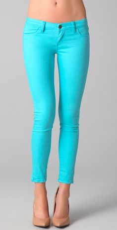 Neon Orchid Skinny Jeans. They look like the female style of ...