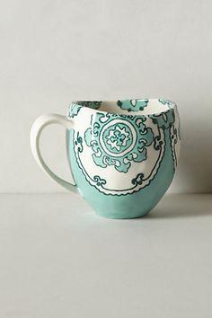 Gloriosa Mug #anthropologie #pintowin