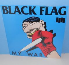 BLACK FLAG my war LP Record HARDCORE PUNK sst SEALED Vinyl henry rollins