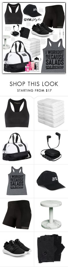 """""""workout 💪"""" by feerubal ❤ liked on Polyvore featuring Lucas Hugh, adidas, iWorld, Body Rags, Pearl Izumi, adidas Originals and gymessentials"""