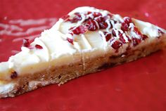 Starbucks Cranberry Bliss Bars - Make your favorite Restaurant & Starbucks recipes at home with Replica Recipes!