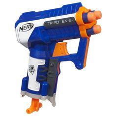 Nerf N-Strike Elite Triad EX-3 Blaster - http://geekarmory.com/nerf-n-strike-elite-triad-ex-3-blaster/