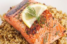 You've barbecued ribs and you've barbecued chicken, but have you tried salmon? Dill and lemon make this light fish dinner shine.