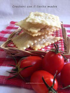 architettando in cucina: Crackers con lievito madre ed il corso di panifica...