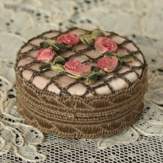 Antique 1920's French Ribbon Work Flowers by TheFrenchLaundry, $95.00
