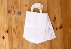white paper bag, eco paper bag with handles, small shopping bag, gift packaging, shop, DIY, wrap, birthday, party favors, wedding bag