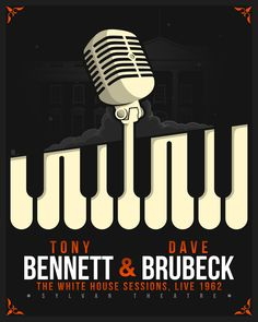 I created this poster for Tony Bennet & Dave Brubeck. #CreativeAllies #TonyBennet #DaveBrubeck