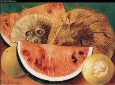 Frida Kahlo Fruit Paintings | Frida Kahlo Coconut