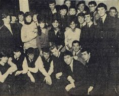 The Rolling Stones with The Ronettes, Dave Berry & The Cruisers, Marty Wilde, the Swinging Blue Jeans, the Cheynes, and the Wildcats on tour England - 1964
