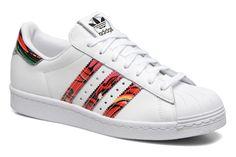 info for b211c 001d4 Adidas Originals Superstar 80S W Blanc