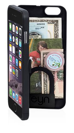 eyn iPhone 6 Plus wallet storage phone case mirror kickstand wrist strap ID cash credit card license compartment NFL protective smartphone iPhone 7 secure Iphone 5c, Iphone 6 Plus Case, Apple Iphone 6, Iphone Cases, Iphone Stand, Electronics Projects, Galaxy S3, Iphone Gadgets, 2017 Gadgets