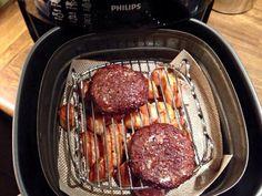 Roseval krieltjes niet hamburgers. 18 min. 190 graden.