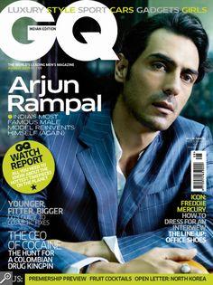 Arjun Rampal on GQ august