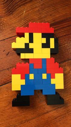 Lego Mario I Am So Making This In A Few Minutes I Love Legos - Minecraft mario spiele