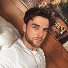The Beard is making its way back...I love me some Nathan Buzolic