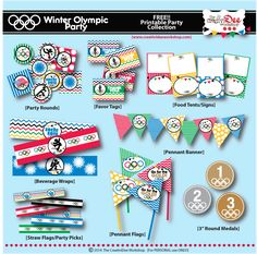 Free Olympic Party Printables