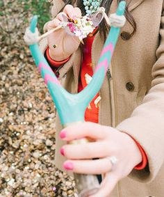 Slingshot Confetti Wedding Send Off | End your wedding ceremony with a special surprise.