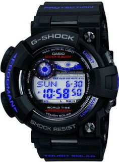 Casio - G-Shock Master of G collection with the Frogman (Watch) G Shock Watches, Casio G Shock, Sport Watches, Cool Watches, Fossil Watches, Wrist Watches, Casio Frogman, G Shock Frogman, World Timer