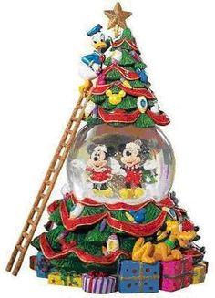 Disney Christmas Tree Snowglobe by Radko