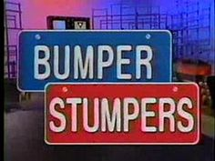 Bumper Stumpers license plate game show